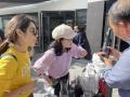 Besuch des Chinesischen Botschafters, Herr Li Xiaosi - Sept 2021 -  Weingut Heinrich