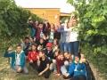 30. September: Blaufränkisch-Lese mit der 1. Volksschule und 3. NMS Deutschkreutz
