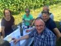 Vinazion zu Besuch im Weingut J. Heinrich im Blaufränkischland, Sept. 2016