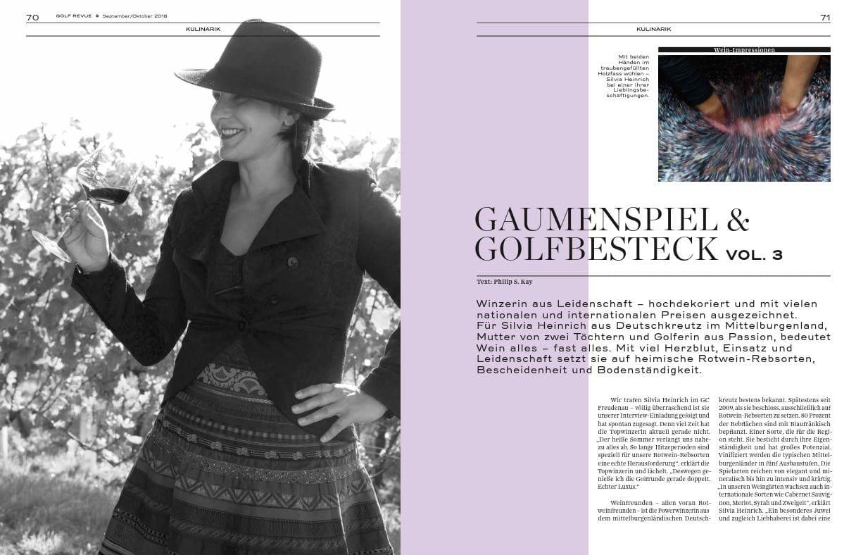 Golfrevue Herbst 2018 Seite 1