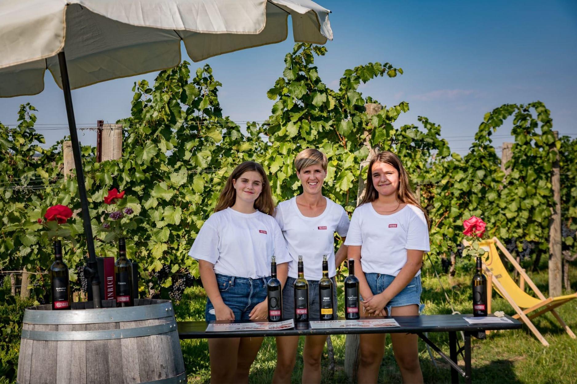 Weingartenwanderung 2020 - Weingut Silvia Heinrich - Villa Goldberg - Burgenland